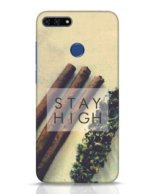Shop Stay High Huawei Honor 7A Mobile Cover-Front