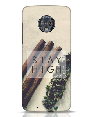 Shop Stay High Moto G6 Mobile Cover-Front