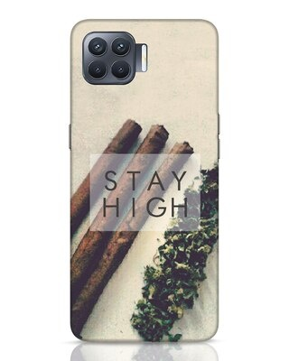 Shop Stay High Oppo F17 Pro Mobile Cover-Front