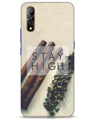 Shop Stay High Vivo S1 Mobile Cover-Front