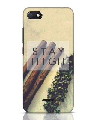 Shop Stay High Xiaomi Redmi 6A Mobile Cover-Front