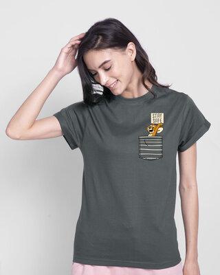 Shop Stay Safe Jerry Boyfriend T-Shirt (TJL)-Front