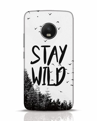 Shop Stay Wild Moto G5 Plus Mobile Cover-Front
