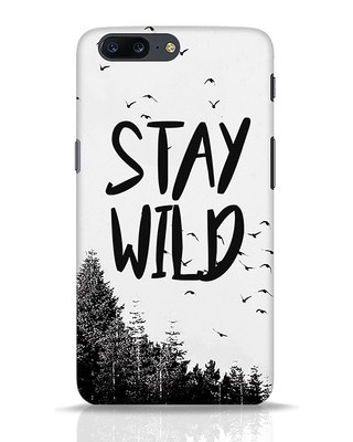 Shop Stay Wild OnePlus 5 Mobile Cover-Front