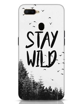 Shop Stay Wild Oppo A5s Mobile Cover-Front