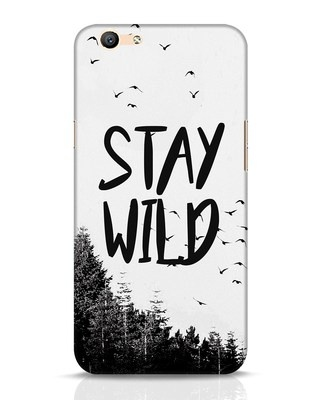 Shop Stay Wild Oppo F1s Mobile Cover-Front