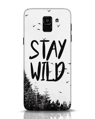Shop Stay Wild Samsung Galaxy J6 Mobile Cover-Front