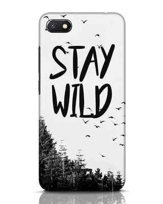 Shop Stay Wild Xiaomi Redmi 6A Mobile Cover-Front