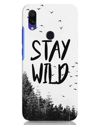 Shop Stay Wild Xiaomi Redmi 7 Mobile Cover-Front