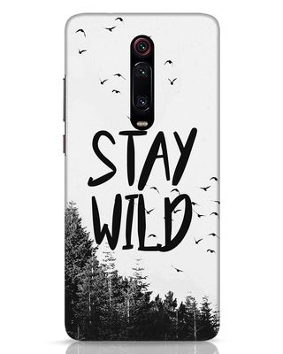 Shop Stay Wild Xiaomi Redmi K20 Mobile Cover-Front