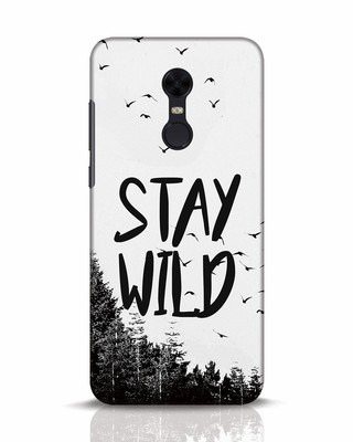 Shop Stay Wild Xiaomi Redmi Note 5 Mobile Cover-Front