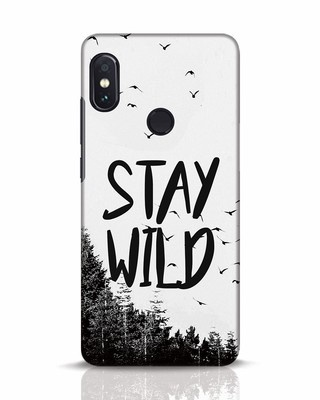 Shop Stay Wild Xiaomi Redmi Note 5 Pro Mobile Cover-Front