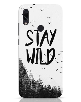 Shop Stay Wild Xiaomi Redmi Note 7 Mobile Cover-Front