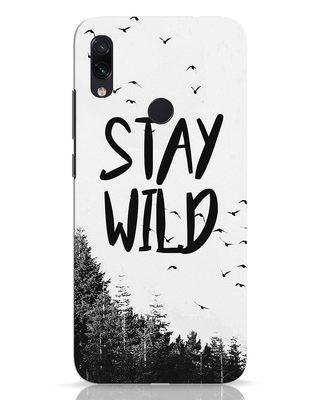 Shop Stay Wild Xiaomi Redmi Note 7 Pro Mobile Cover-Front