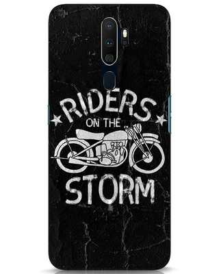 Shop Storm Rider Oppo A9 2020 Mobile Cover-Front