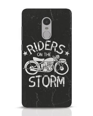 Shop Storm Rider Xiaomi Redmi Note 4 Mobile Cover-Front