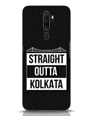 Shop Straight Outta Bengal Oppo A5 2020 Mobile Cover-Front