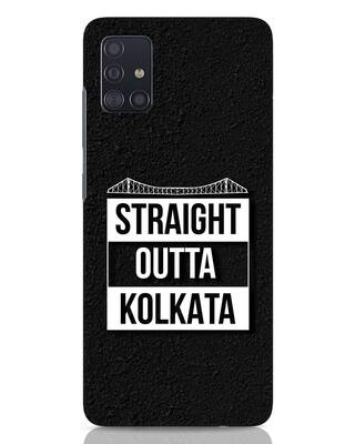 Shop Straight Outta Bengal Samsung Galaxy A51 Mobile Cover-Front