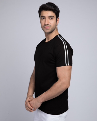 Shop Street Creed Half Side Panel T-shirt-Front