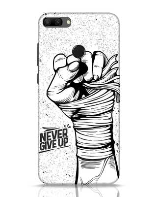 Shop Strength Fist Huawei Honor 9N Mobile Cover-Front