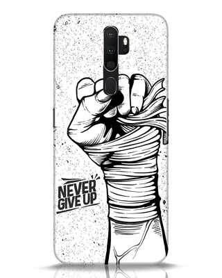 Shop Strength Fist Oppo A5 2020 Mobile Cover-Front