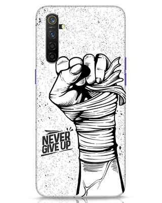 Shop Strength Fist Realme 6 Mobile Cover-Front