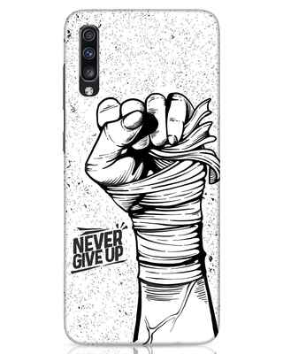 Shop Strength Fist Samsung Galaxy A70 Mobile Cover-Front
