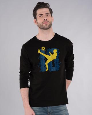 Shop Striker10 Full Sleeve T-Shirt-Front