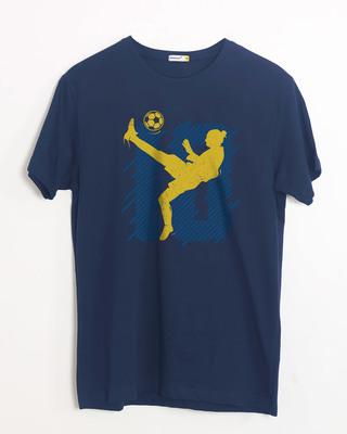Shop Striker10 Half Sleeve T-Shirt-Front