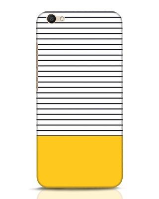 Shop Stripes And Block Vivo V5 Mobile Cover-Front