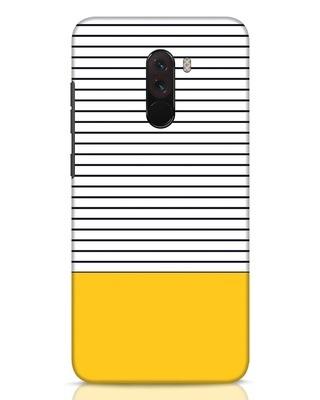 Shop Stripes And Block Xiaomi POCO F1 Mobile Cover-Front