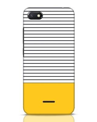 Shop Stripes And Block Xiaomi Redmi 6A Mobile Cover-Front