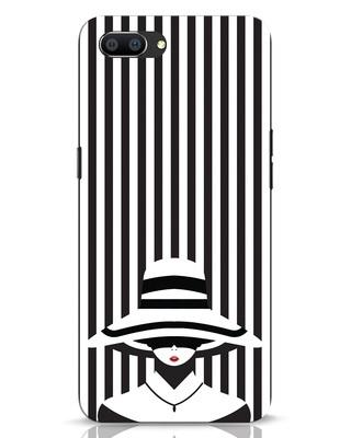 Shop Stripes Lady Realme C1 Mobile Cover-Front