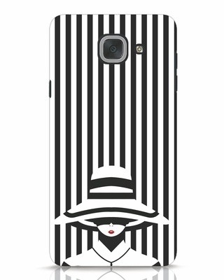 Shop Stripes Lady Samsung Galaxy J7 Max Mobile Cover-Front