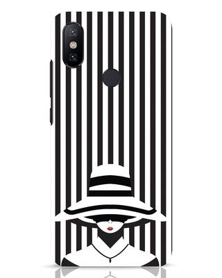 Shop Stripes Lady Xiaomi Mi A2 Mobile Cover-Front