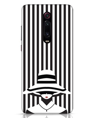 Shop Stripes Lady Xiaomi Redmi K20 Mobile Cover-Front