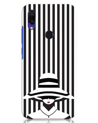 Shop Stripes Lady Xiaomi Redmi Y3 Mobile Cover-Front