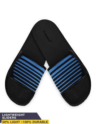 Shop Stripes Lightweight Adjustable Strap Mens Slider-Front