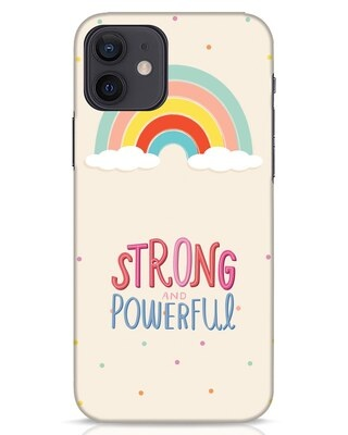 Shop Strong Women iPhone 12 Mobile Cover-Front