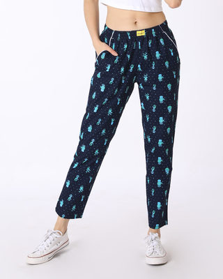 Buy Succulent All Over Printed Pyjama Online India @ Bewakoof.com
