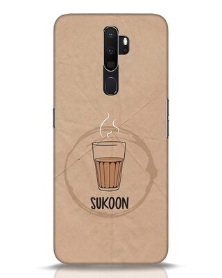 Shop Sukoon Wali Chai Oppo A5 2020 Mobile Cover-Front