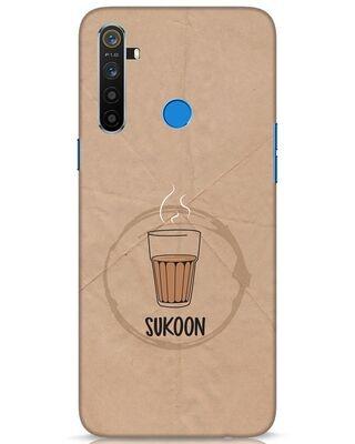 Shop Sukoon Wali Chai Realme 5 Mobile Cover-Front