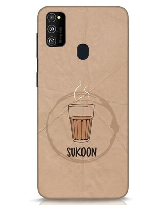 Shop Sukoon Wali Chai Samsung Galaxy M30s Mobile Cover-Front