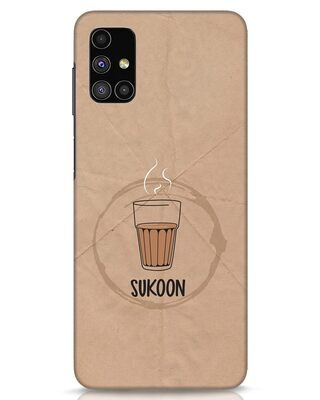 Shop Sukoon Wali Chai Samsung Galaxy M51 Mobile Cover-Front