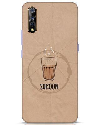 Shop Sukoon Wali Chai Vivo S1 Mobile Cover-Front