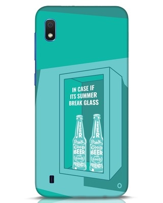 Shop Summer Caution Samsung Galaxy A10 Mobile Cover-Front