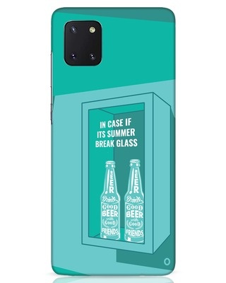 Shop Summer Caution Samsung Galaxy Note 10 Lite Mobile Cover-Front