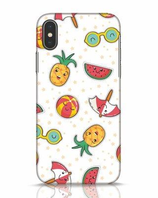 Shop Summer Is Coming iPhone X Mobile Cover-Front