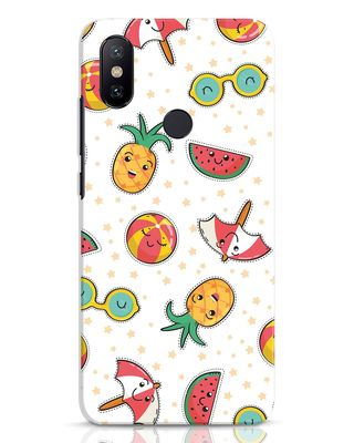 Shop Summer Is Coming Xiaomi Mi A2 Mobile Cover-Front