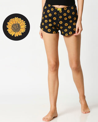 Shop Sunflower Women's Boxers-Front